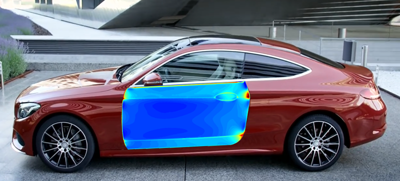 Daimler AG: Door-outer Mercedes-Benz C-class Coupé   TriboForm